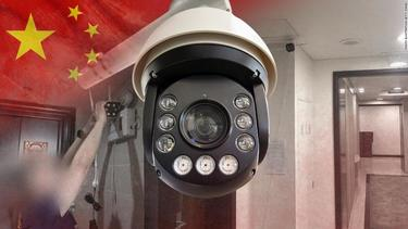 China is installing surveillance cameras outside people's front doors ... and sometimes inside their homes